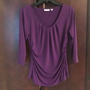 Women's purple blouse size medium